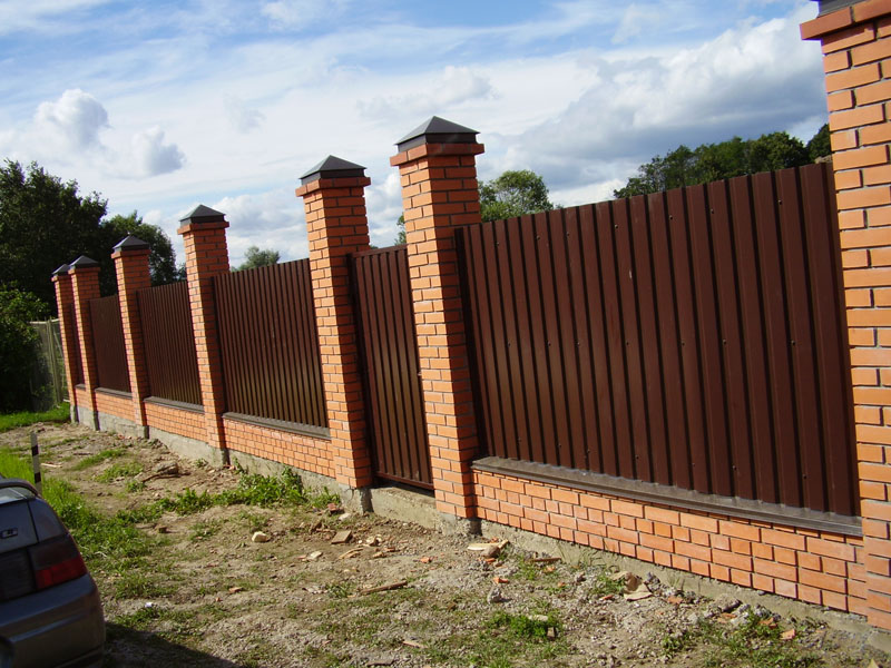Металл на забор